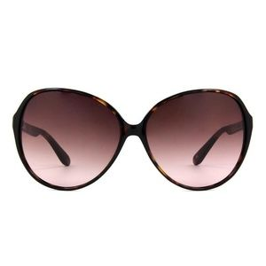 """Derek Lam Tortoise """"Lucy"""" Butterfly Sunglasses"""